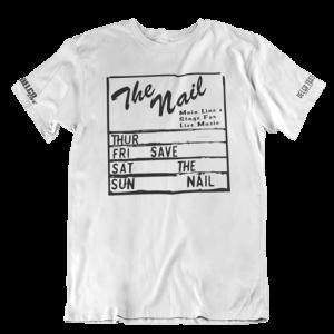 Save The Nail t shirt